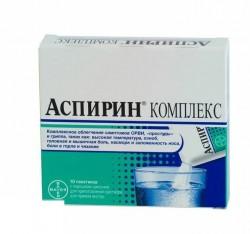 Аспирин Комплекс, пор. шип. д/р-ра д/приема внутрь 3547.5 мг №10